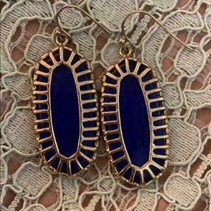Cobalt Kendra Scott Earrings